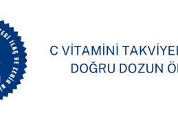 C Vitamini Takviyelerinde Doğru Dozun Önemi