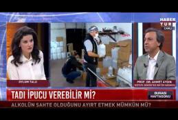 Prof. Dr. Ahmet Aydın: Sahte İçkinin İçindeki Zehirli Alkoldür
