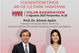Prof. Dr. Ahmet Aydın Habertürk TV'ye Konuk Oluyor