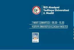 İEO Akademi Eğitimleri Yeditepe Üniversitesi Eczacılık Fakültesinde Başlıyor