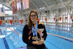 Öğrencimiz Nilay ERKAL Yüzmede Türkiye Şampiyonu Olmuştur