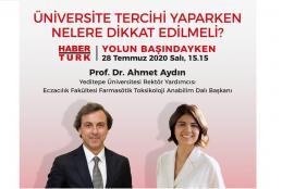 Habertürk - Yolun Başındayken'in Konuğu Prof. Dr. Ahmet Aydın