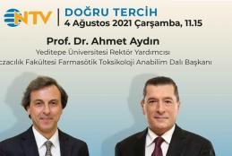 Prof. Dr. Ahmet Aydın NTV'ye Konuk Oluyor