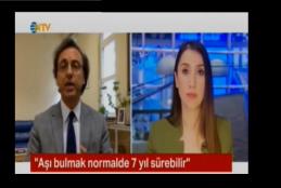 Prof. Dr. Ahmet Aydın COVID-19 Aşı Çalışmalarıyla İlgili Soruları Yanıtladı