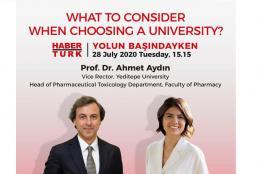 Prof. Ahmet Aydın will be Hosted by Habertürk - Yolun Başındayken