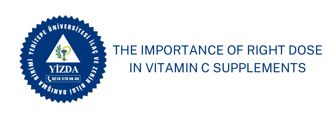 The Importance of Right Dose in Vitamin C Supplement
