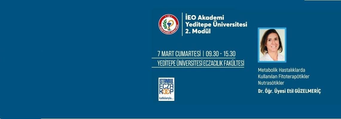 IEO Academy Training Starts at Yeditepe University Faculty of Pharmacy